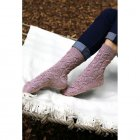 Cable patterned socks 4508