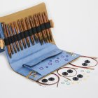 KnitPro GINGER Deluxe Set Interchangeable Circular Needles long