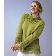 Ladie's Sweater 5950