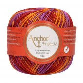 Anchor Freccia 6 Multicolour Bag of 4 balls - 4 x 50g