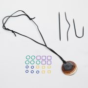 KnitPro Magnetic Knitter's Necklace Kit NATURAL HUES