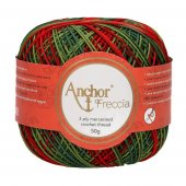 Anchor Freccia 12 Multicolour - Bag of 4 balls - 4 x 50g
