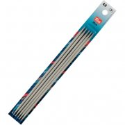 Prym Double-pointed knitting pins Aluminium 20 cm - 4 mm