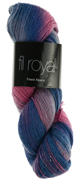 Atelier Zitron Fil Royal hand dyed 100g : 3652 Flamingo