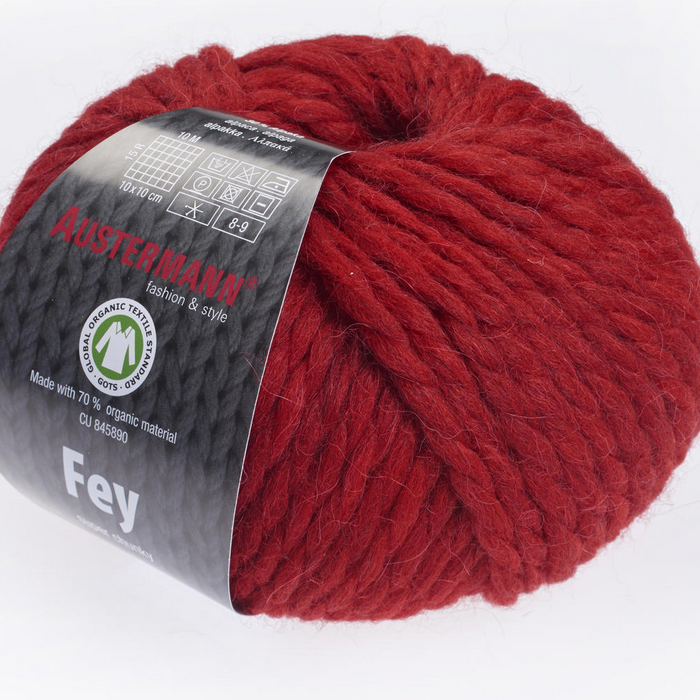 Austermann Fey 50g : 03 rouge