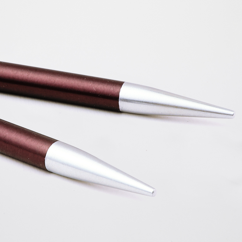 2-8 mm KnitPro Zing Circular needles,40 cm various sizes bright colours