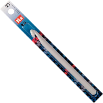 Prym Crochet hook for wool Plastic 14 cm - 9 mm