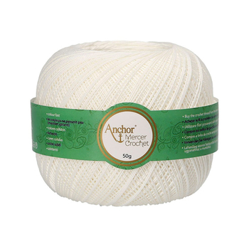 Anchor Mercer Crochet 40 - Viererpack  - 4 x 50g
