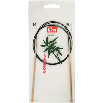 Prym Aiguille Circulaire Bamboo 80 cm - 3 mm