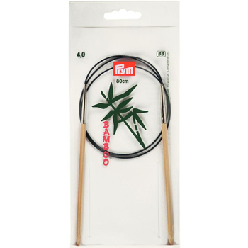 Prym Aiguille Circulaire Bamboo 80 cm - 4 mm