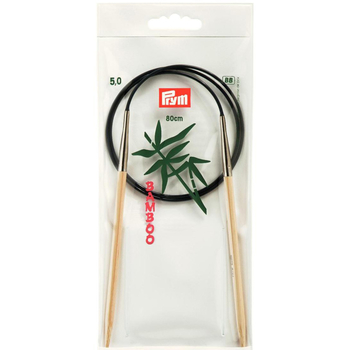 Prym Circular Needle Bamboo 80 cm - 5 mm