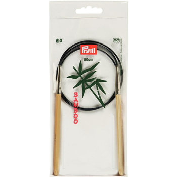 Prym Circular Needle Bamboo 80 cm - 6 mm