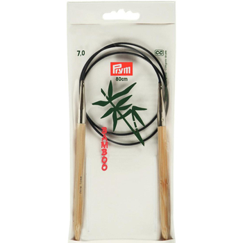 Prym Aiguille Circulaire Bamboo 80 cm - 7 mm