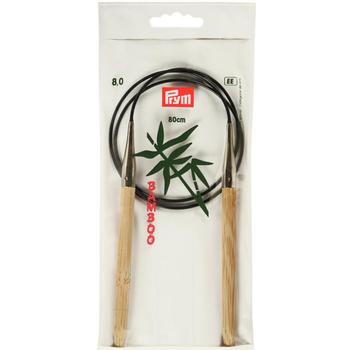 Prym Circular Needle Bamboo 80 cm - 8 mm