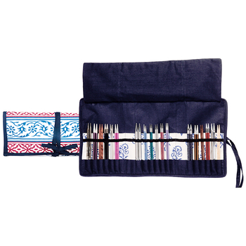"KnitPro ""Navy"" Interchangeable Needle Case"