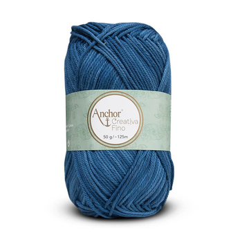 Anchor Creativa Fino Denim Bag of 10 balls  - 10 x 50g