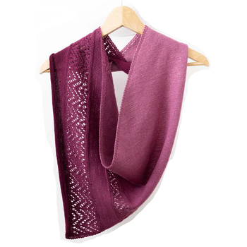 Asymmetrical Triangular Scarf