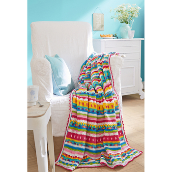 Crocheted Throw 9406