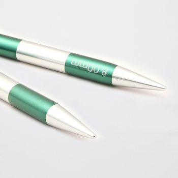 KnitPro SMART STIX Aiguilles Interchangeables - 8 mm - emerald