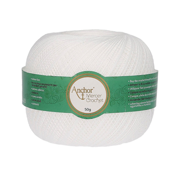 Anchor Mercer Crochet 20 - Bag of 4 balls  - 4 x 50g