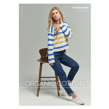 Schachenmayr Booklet No 3 - Organic Cotton - allemand/anglais