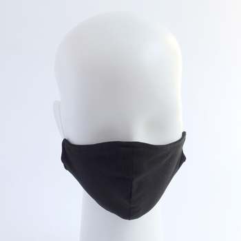 Mouth-Nose-Mask - Organic Cotton - black