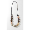 Felt Necklace - natural