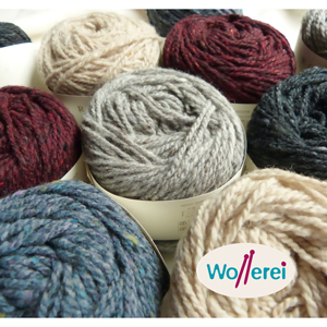 La vedette de la nouvelle collection Rowan: Cashmere Tweed