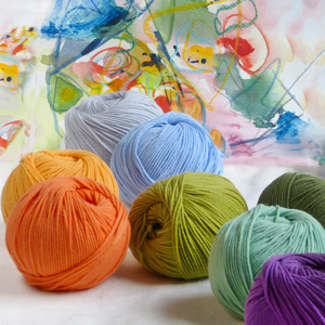 Yarn of the month march: Atelier Zitron Lifestyle