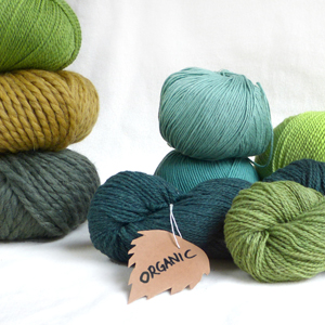 GOTS certified organic yarns in stock