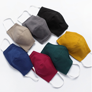 For her and him: Mouth-Nose-Masks made from Organic Cotton
