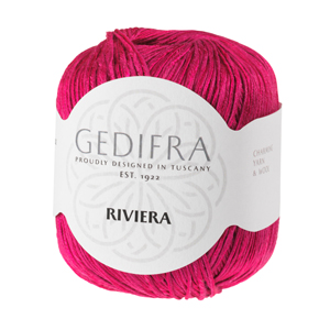 Yarn of the month in july: Gedifra Riviera