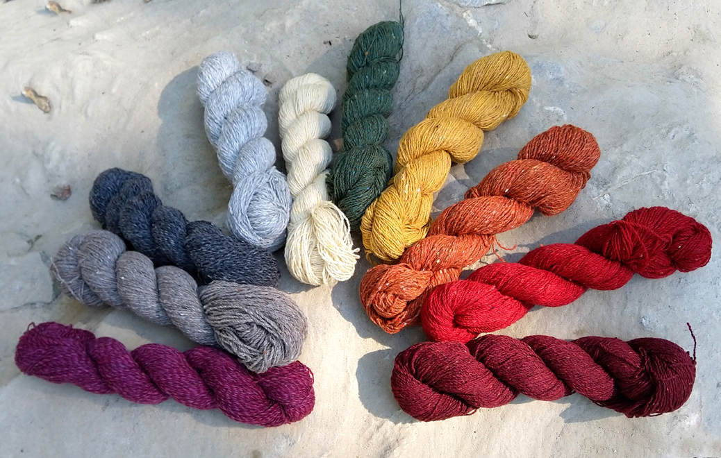 Rowan Valley Tweed - New colours available