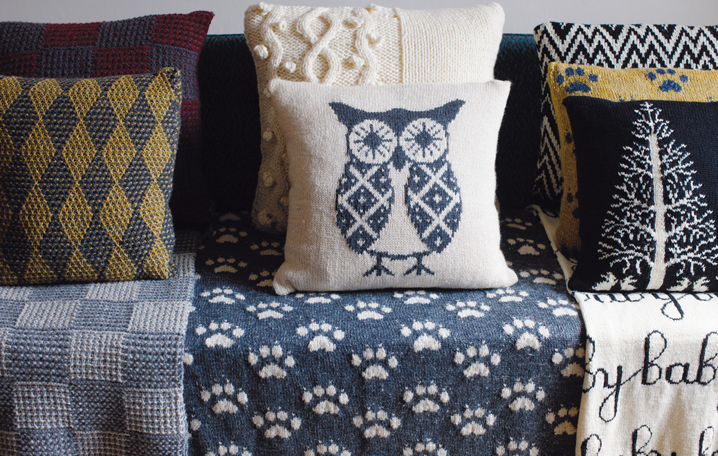 Rowan at Home - Discover elegant blankets and decorative cushions