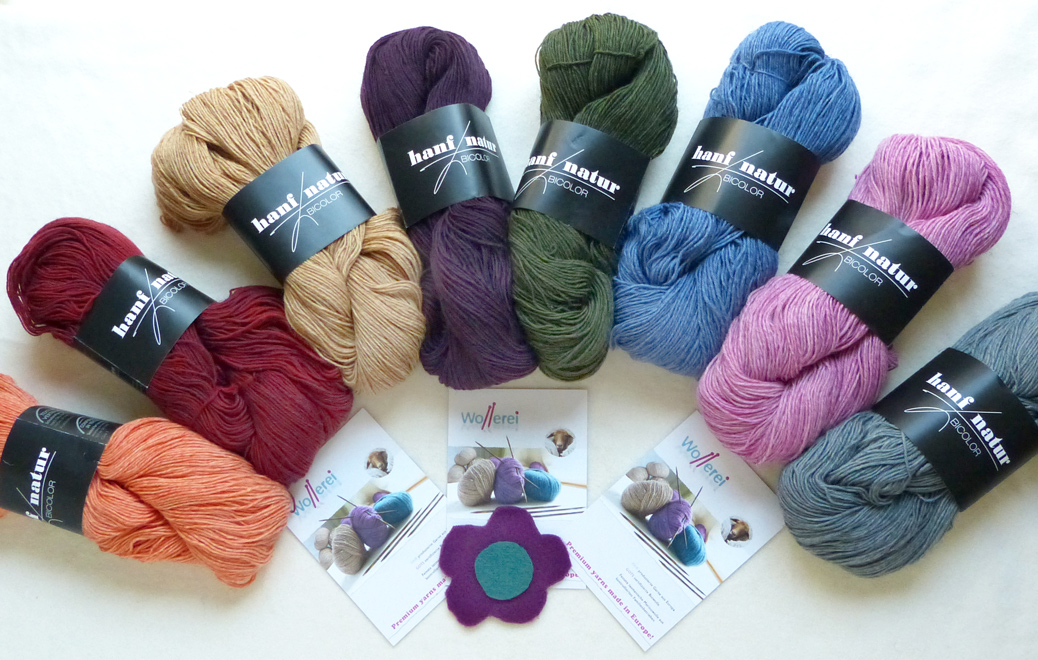 Yarn of the month: Atelier Zitron Hanf Natur